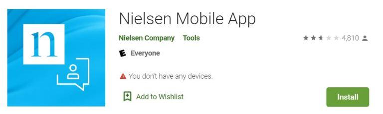nielsen mobile app google