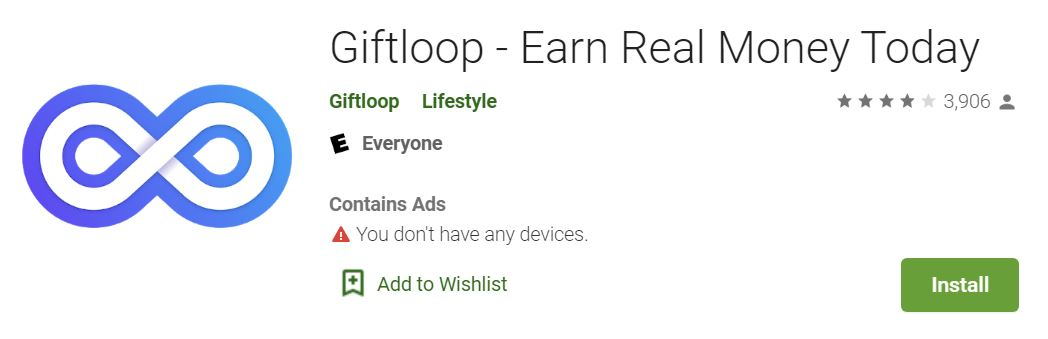 giftloop google play