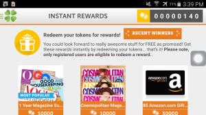 lucktastic instant rewards