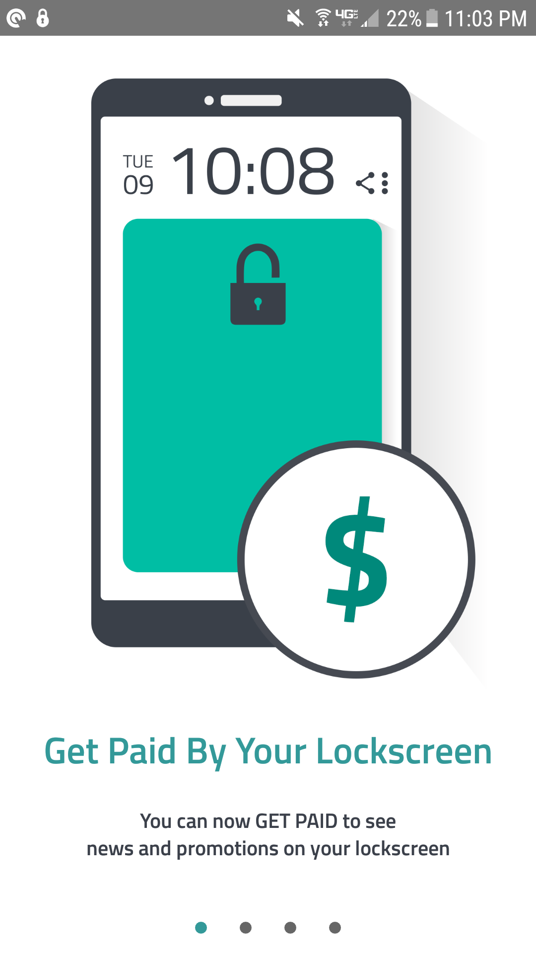 Slidejoy get paid by your lockscreen