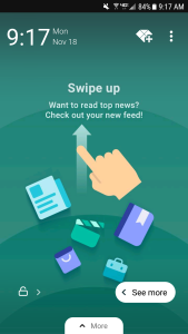 slidejoy swipe up