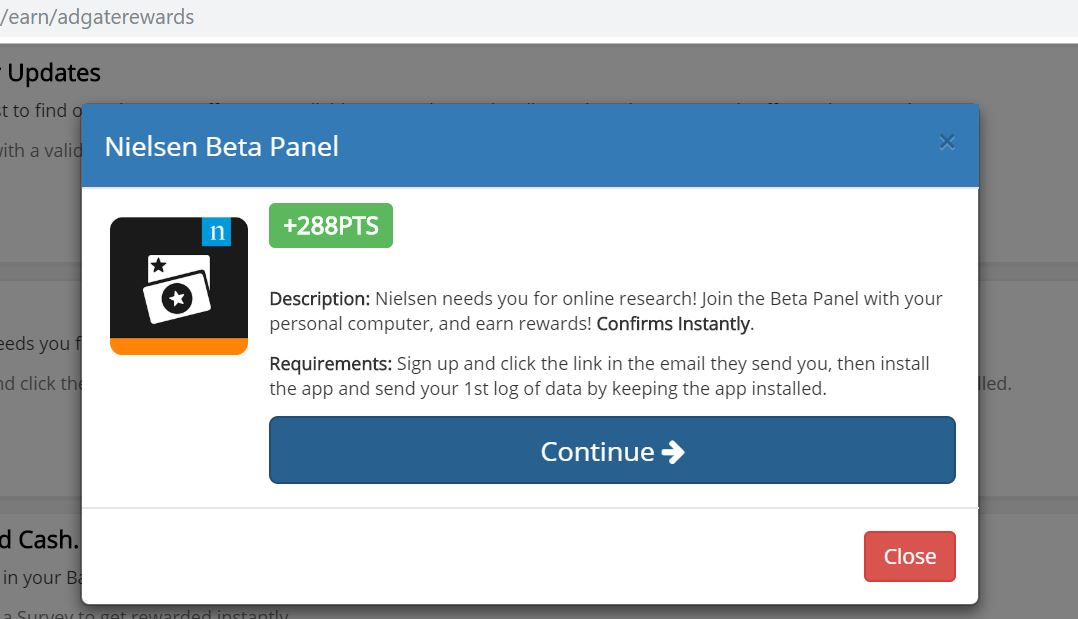 nielsen beta panel sign up
